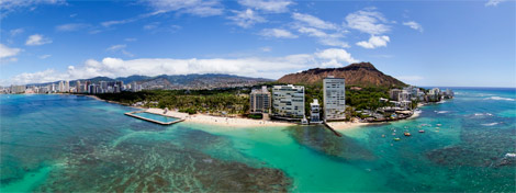 Diamond Head Aerial 360